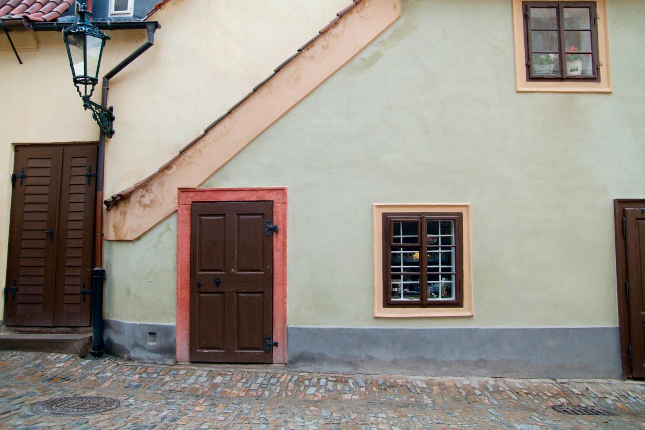 Donde esta el Callejon del Oro en Praga