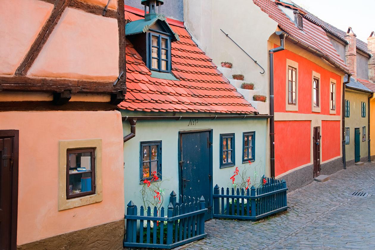 Que ver en el Callejon del Oro de Praga