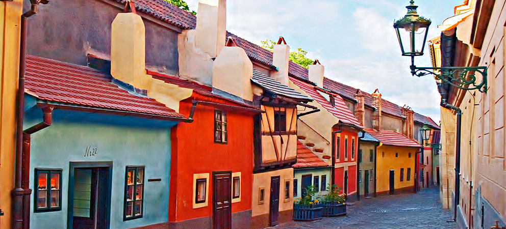 Callejon del Oro en Praga