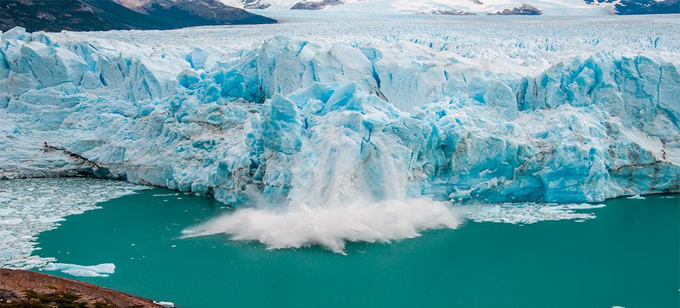 Desprendimiento en el Perito Moreno