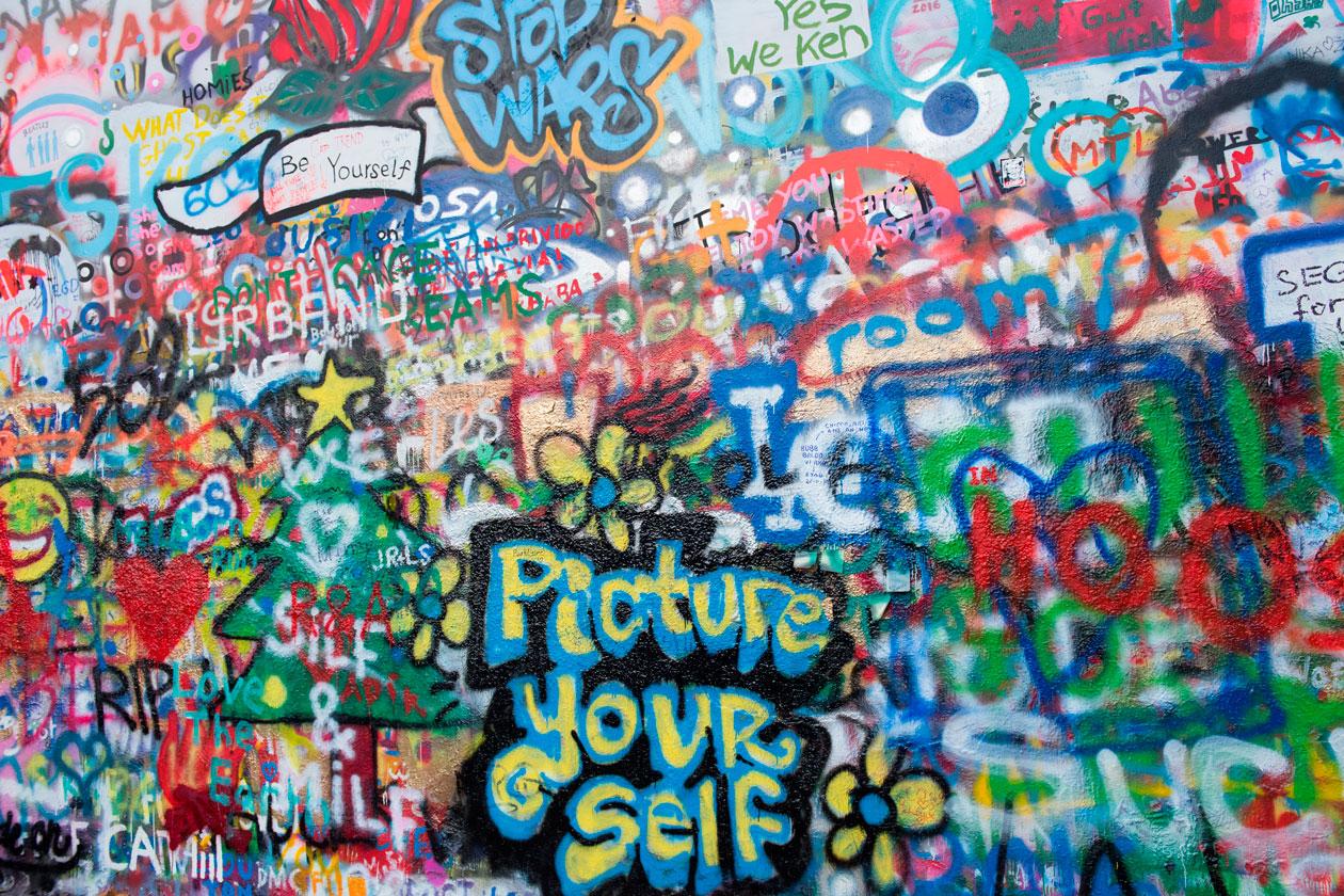 Ver el Muro de John Lennon en Praga