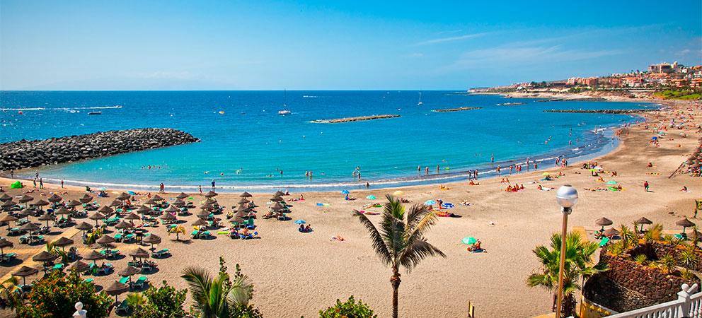 Playa de las Americas en Tenerife