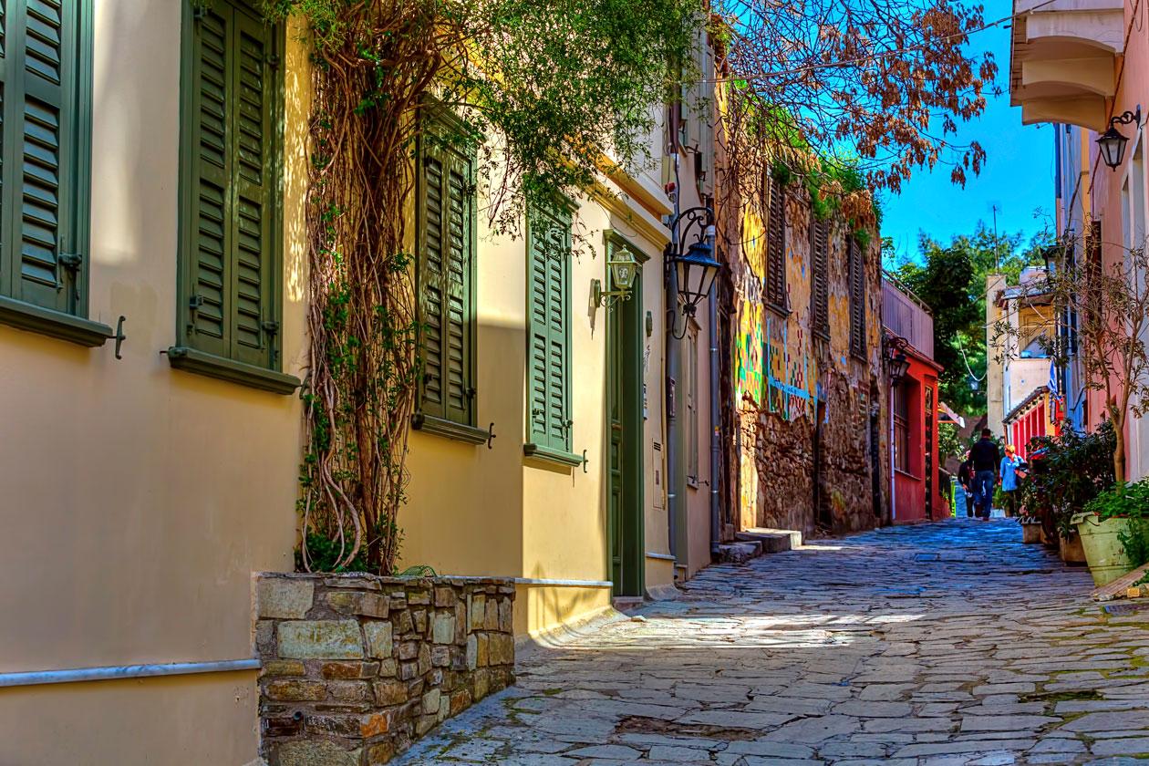 Pasear por Atenas