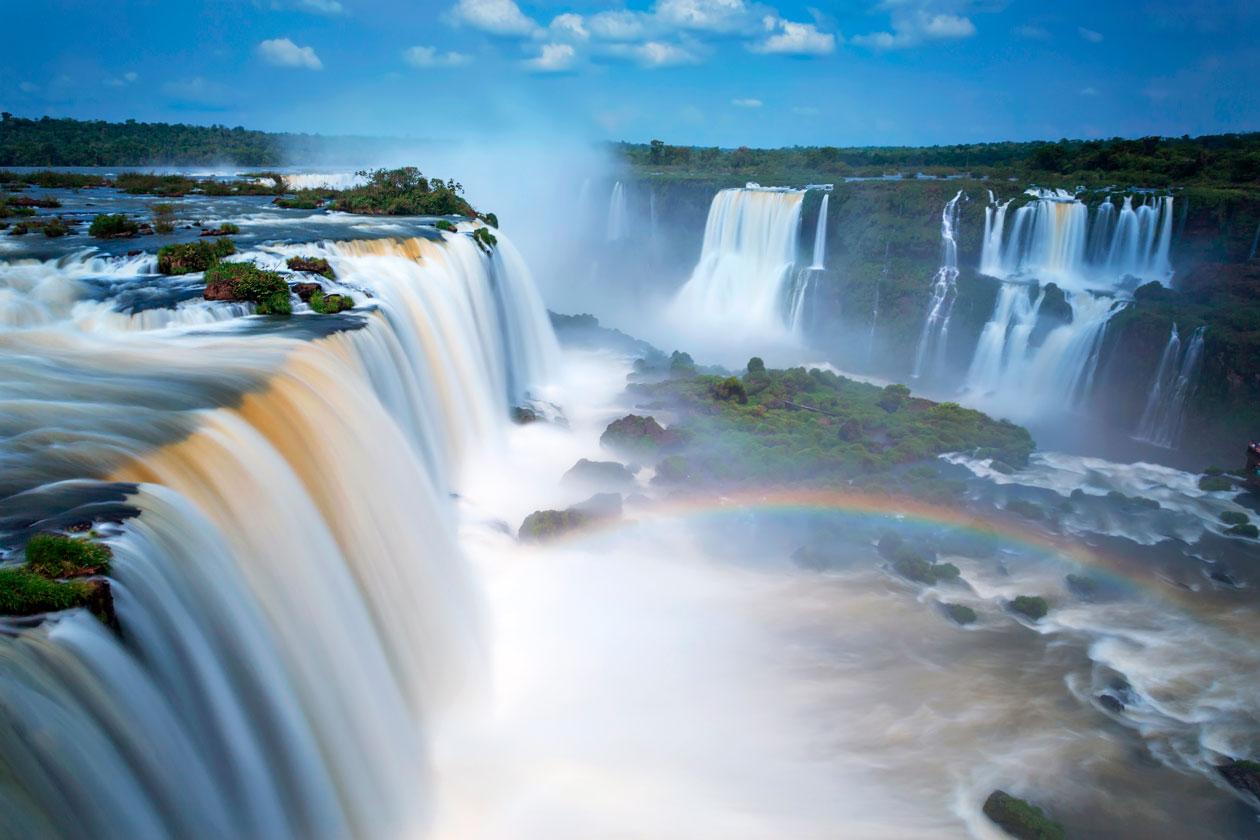 Como son las Cataratas de Iguazu