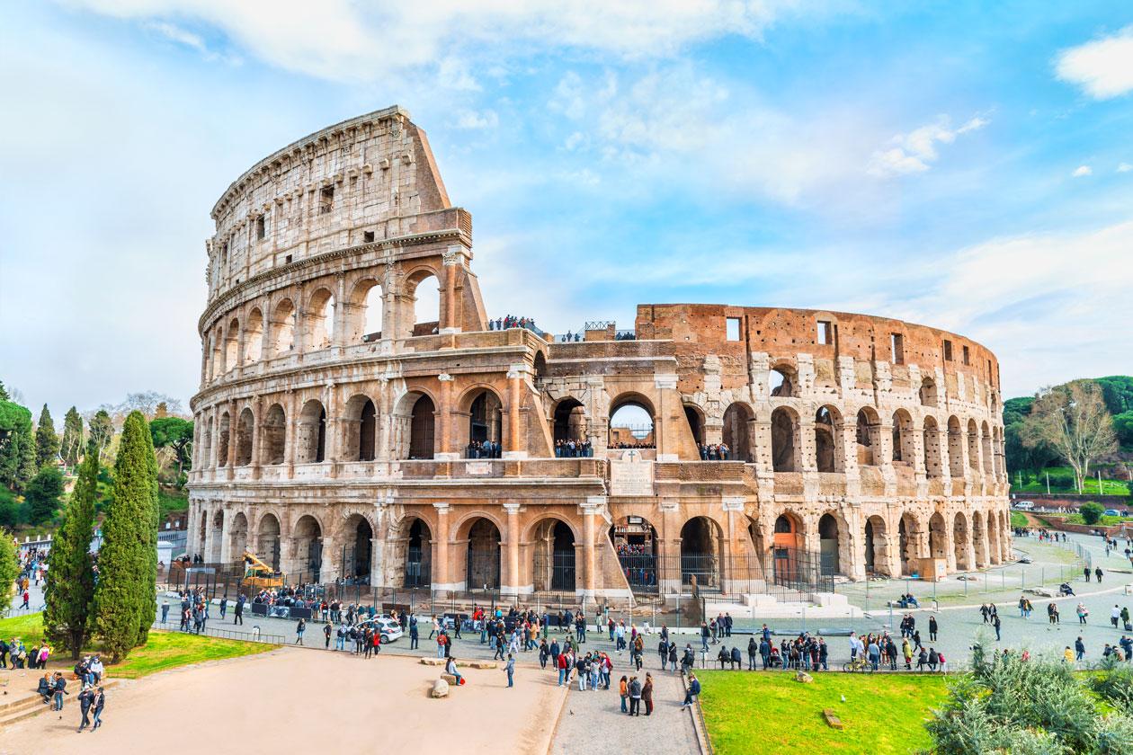 Pasear por Roma