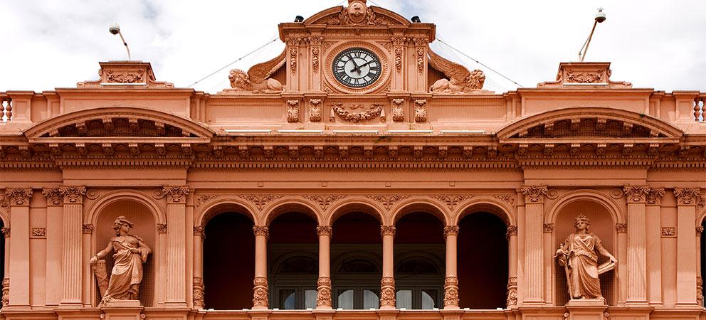 Fachada Casa Rosada de Buenos Aires