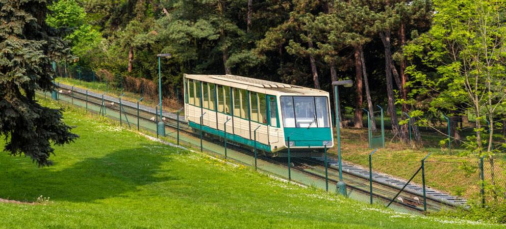 Funicular de Petrin. Praga