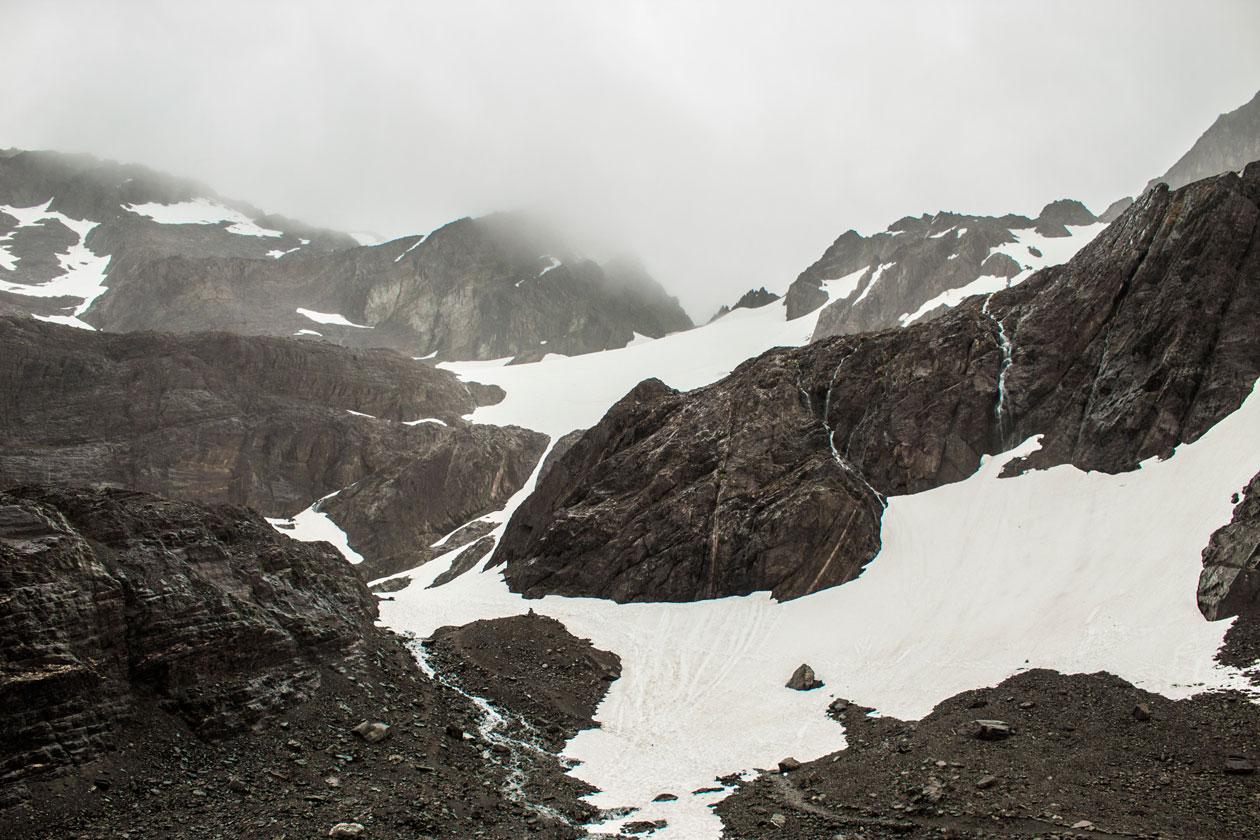 Como es el Glaciar Martial de Ushuaia