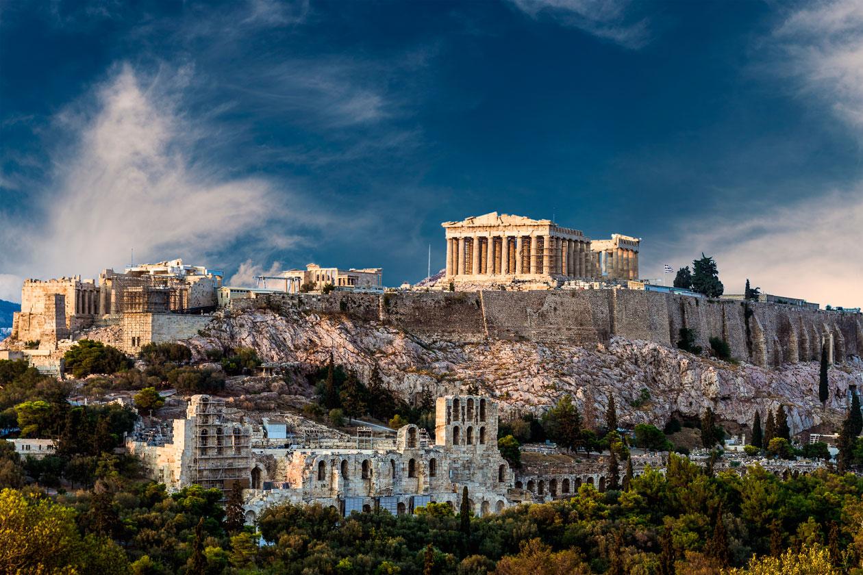 Visitas en Atenas
