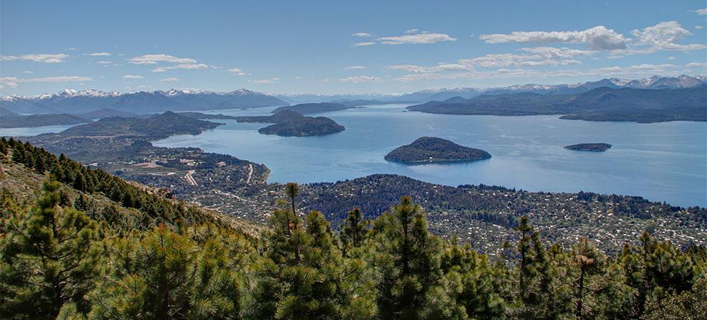 Panoramica desde Cerro Otto en Bariloche