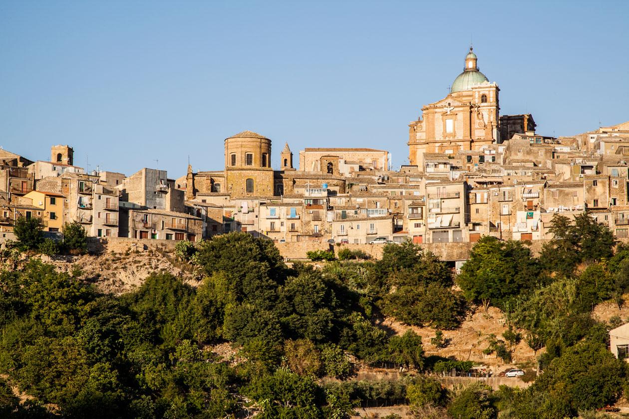 Piazza Armerina en Sicilia