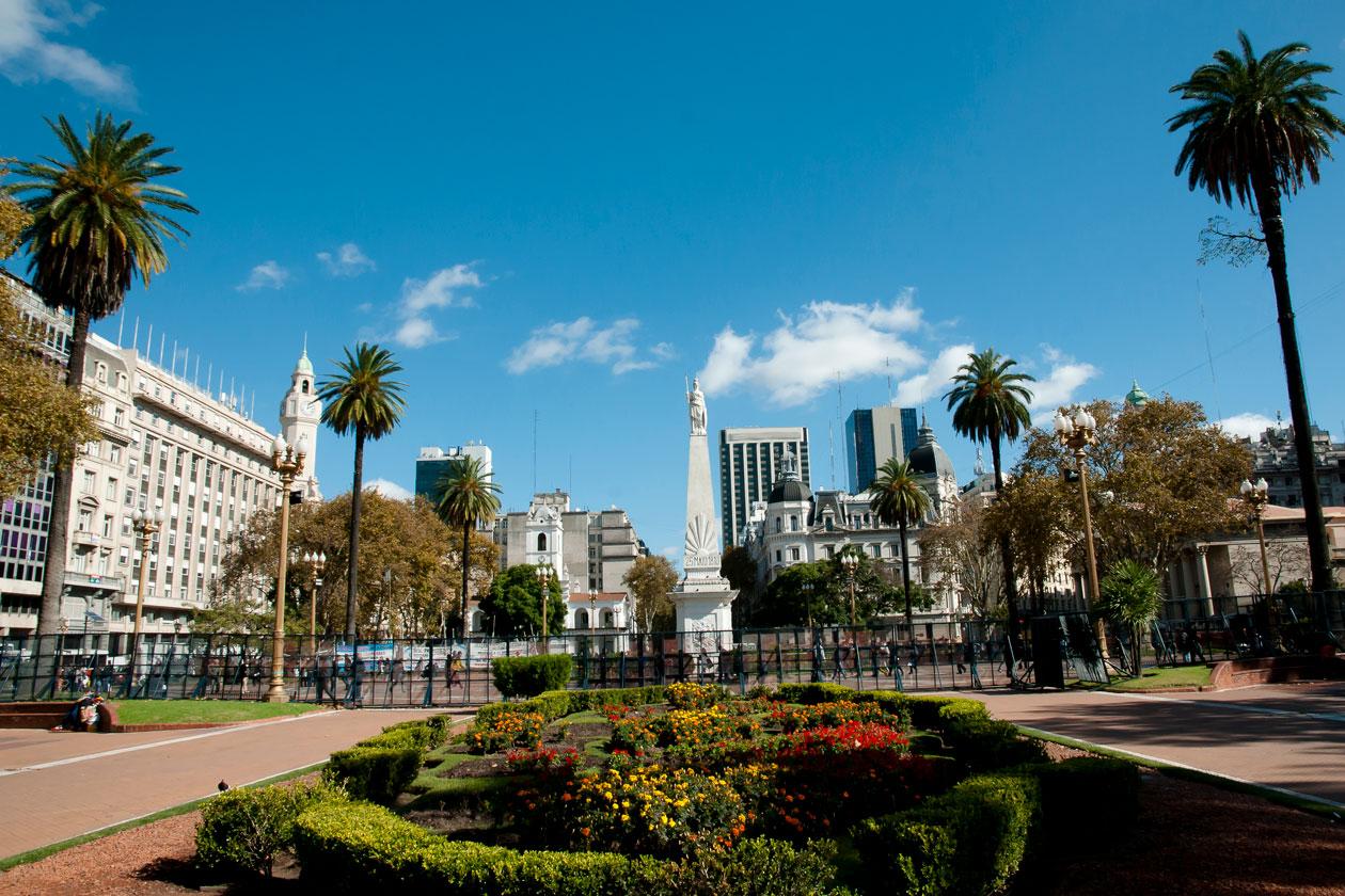 Visitar la Plaza de Mayo de Buenos Aires
