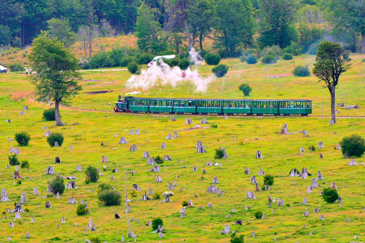 Viajar en el Tren del Fin del Mundo