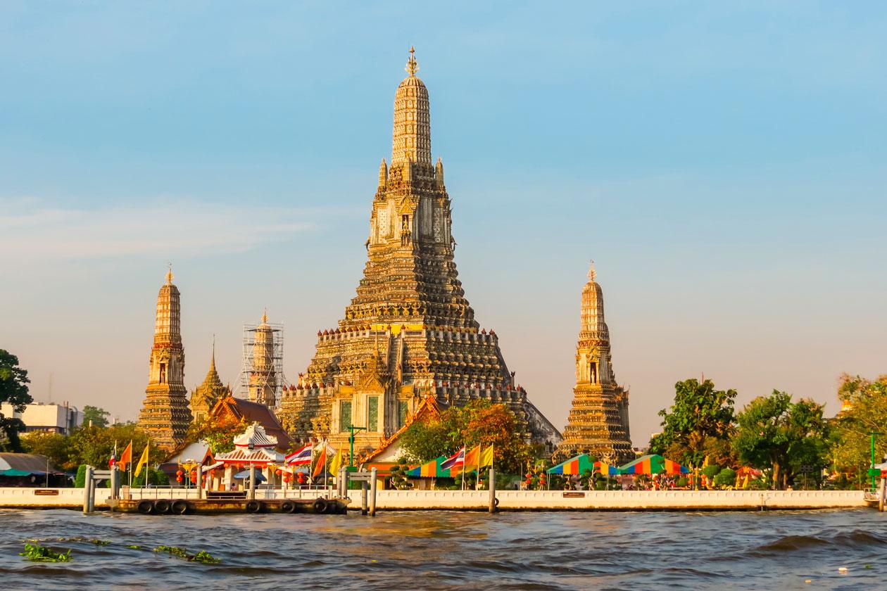 Donde esta el Wat Arun
