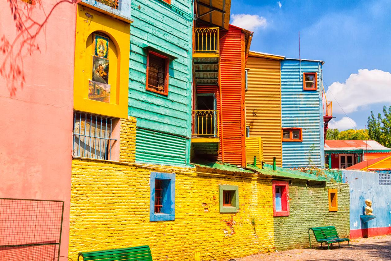 Conocer Caminito en Buenos Aires