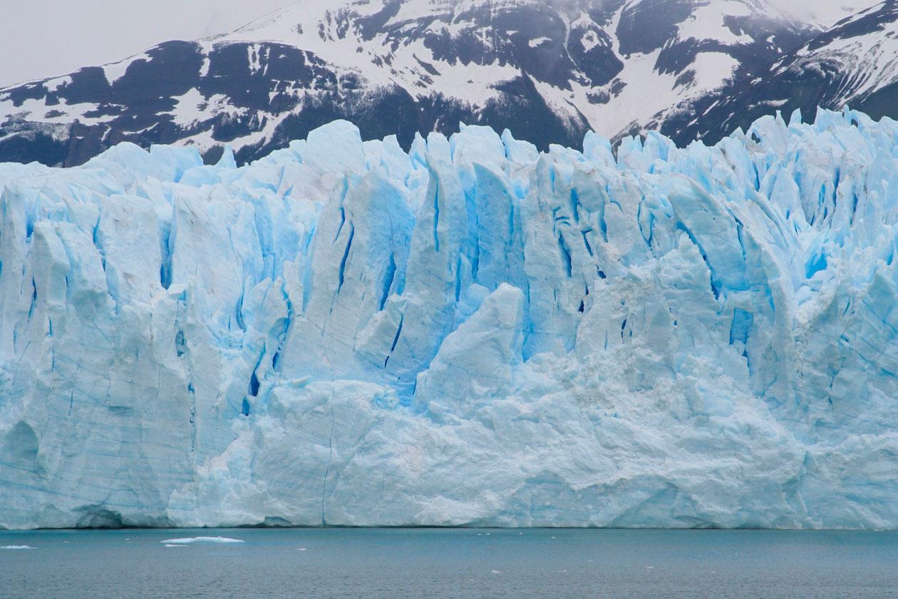 Como es el Glaciar Upsala
