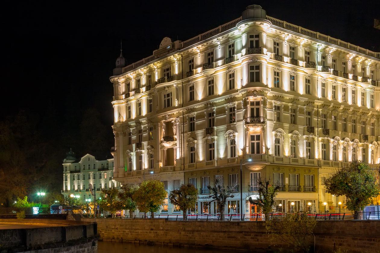 Visitas en Karlovy Vary