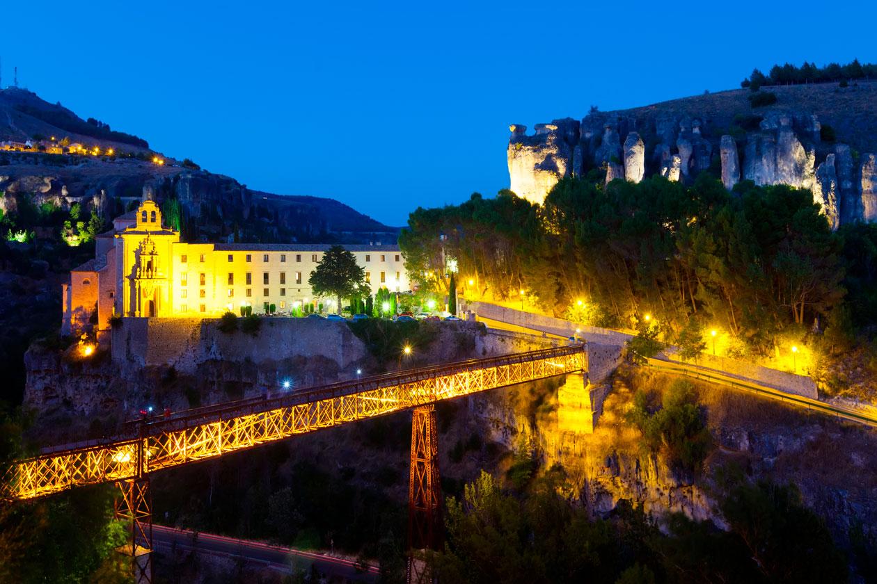 Donde esta el Puente de San Pablo en Cuenca