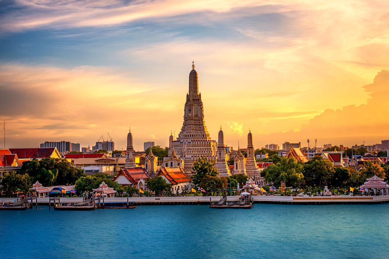 Visitas en Bangkok