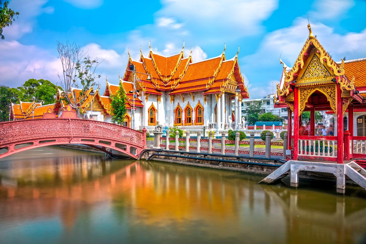 Pasear por Bangkok