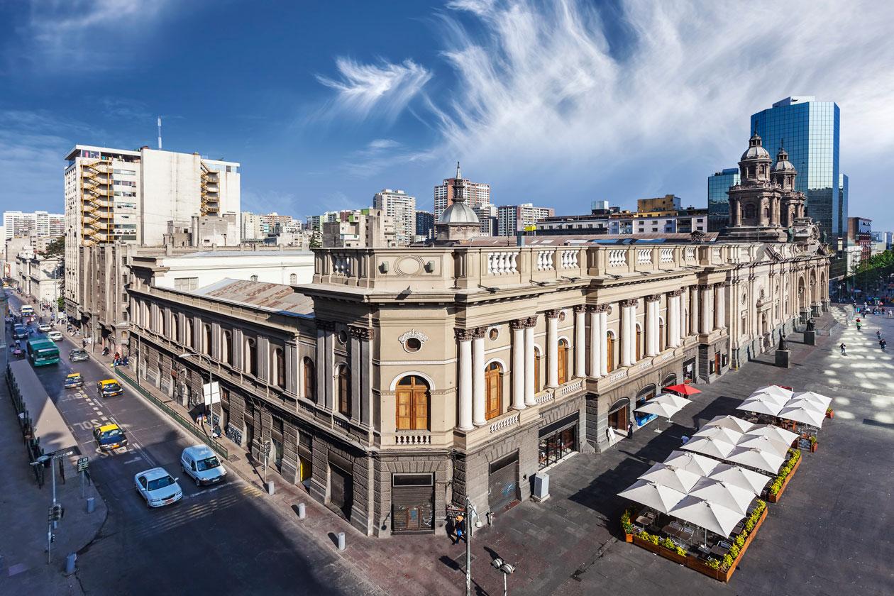Calles en Santiago de Chile