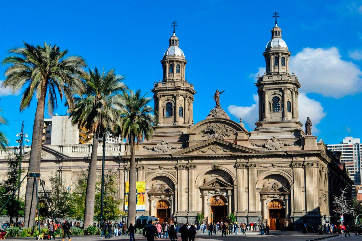 Catedral en Santiago de Chile