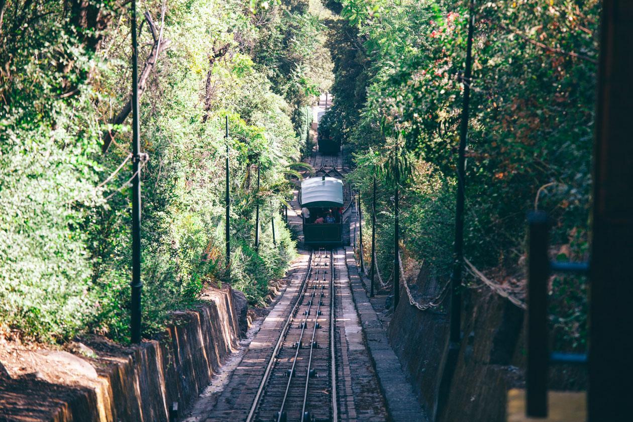 Funicular en Santiago de Chile