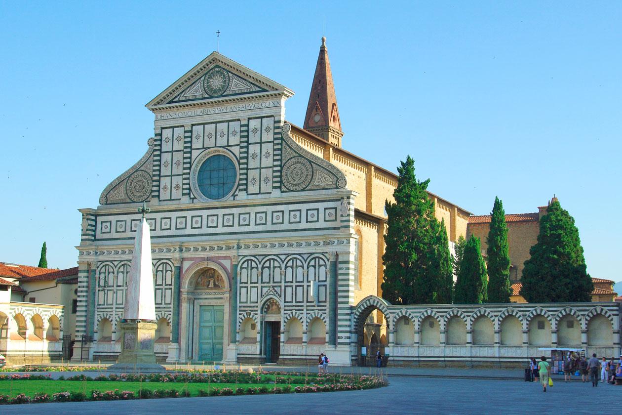 Iglesia Santa Maria Novella de Florencia