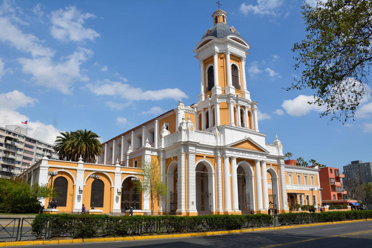 Iglesia de la Divina Providencia en Santiago de Chile