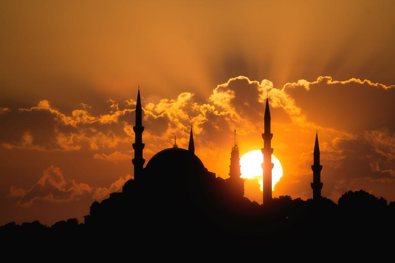 Mezquita de Suleiman en Estambul