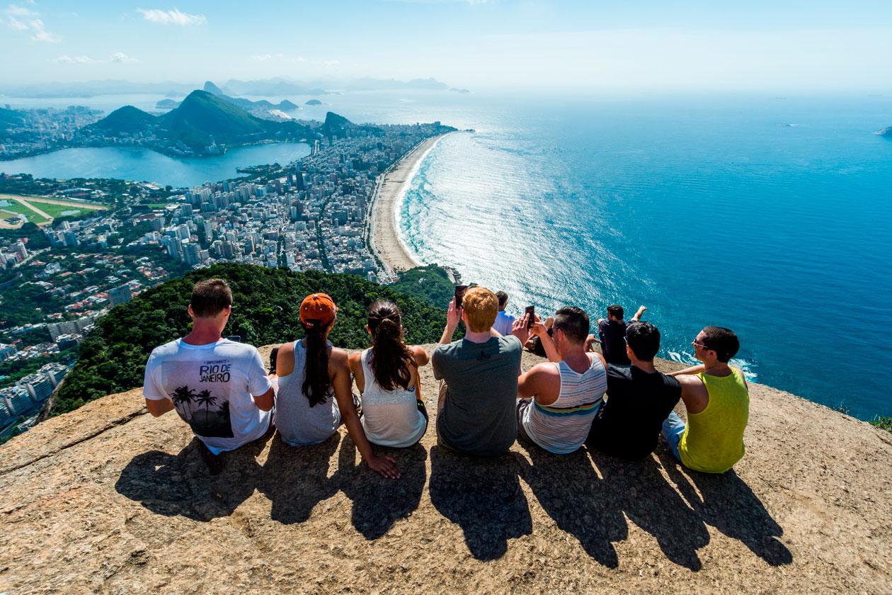 Morro Dos Irmaos en Rio de Janeiro