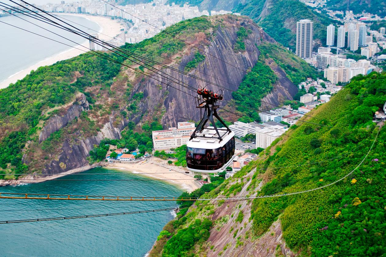Pan de Azucar en Rio de Janeiro