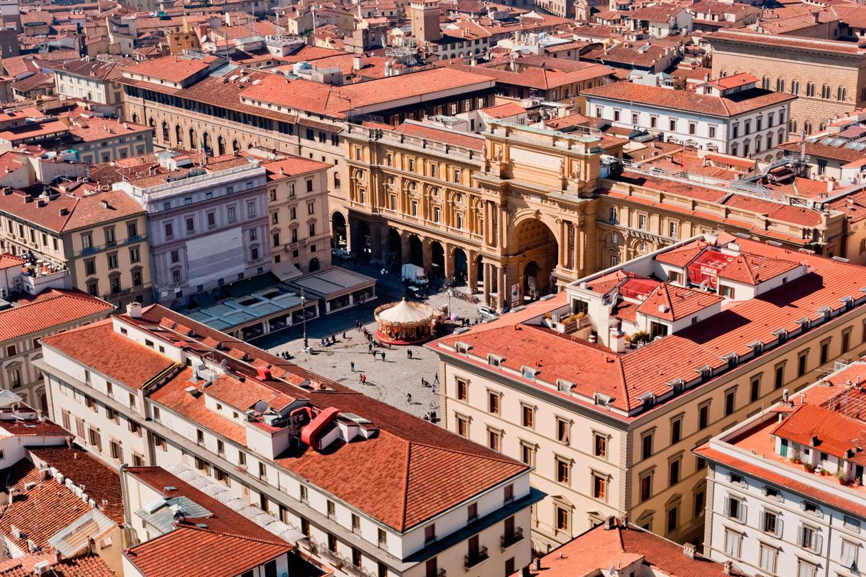 Piazza della Repubblica de Florencia