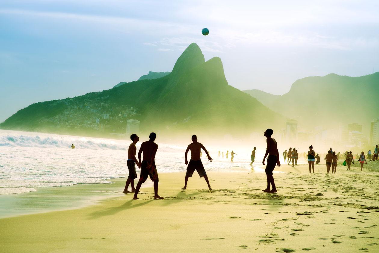 Playa de Ipanema en Rio de Janeiro