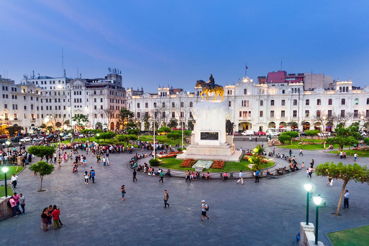 Pasear por Lima