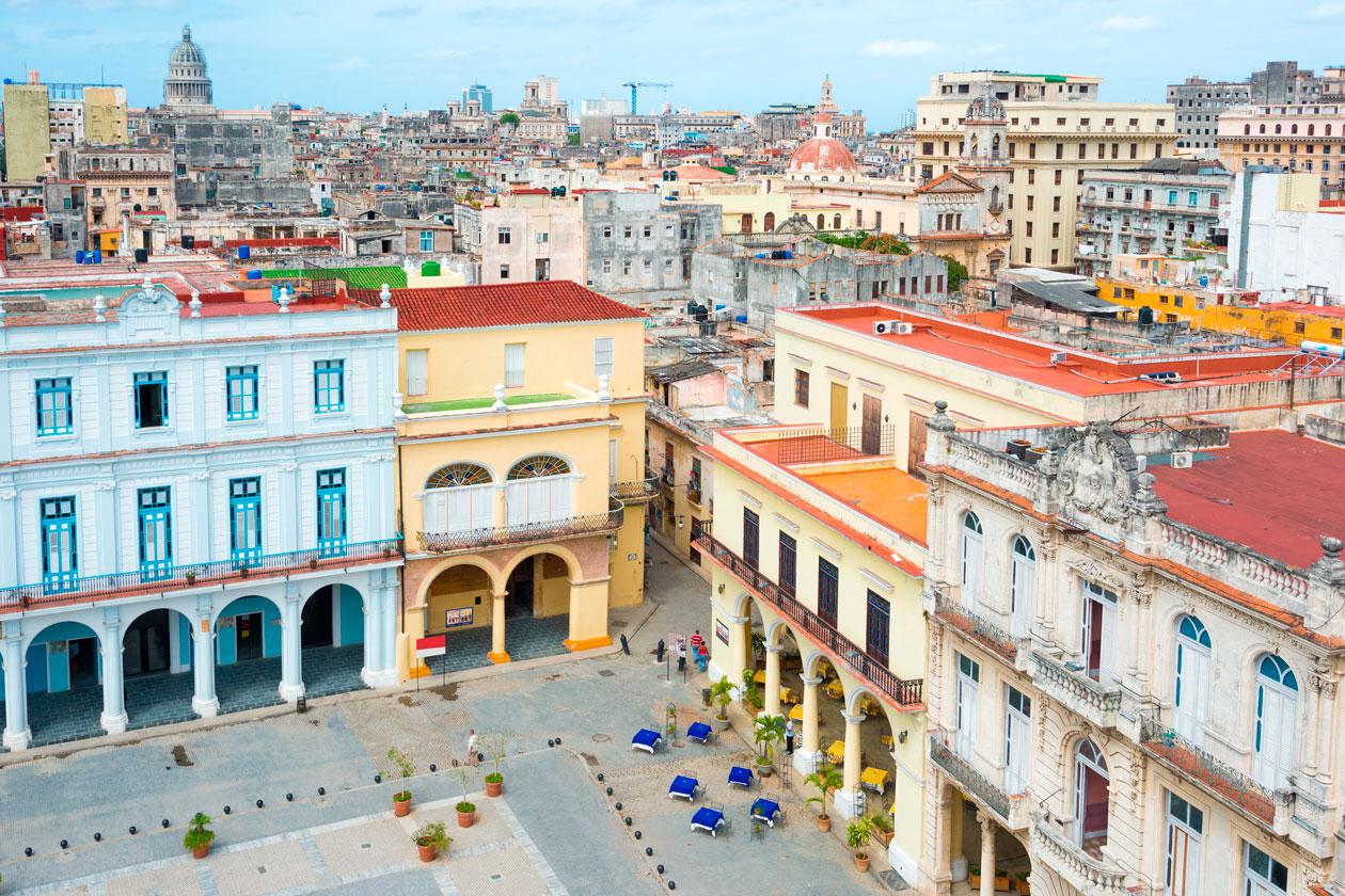 Conocer Plaza Vieja de La Habana