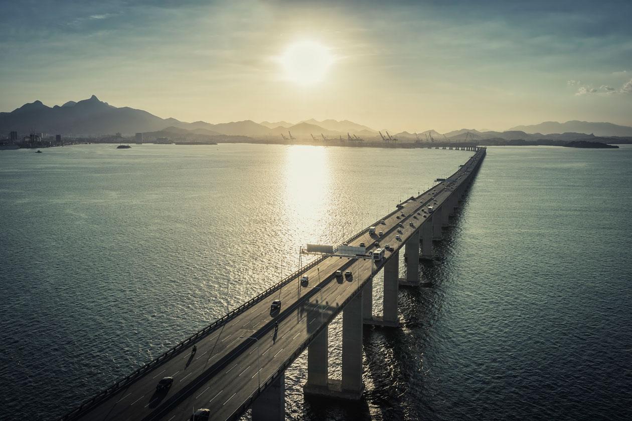 Puente de Niteroi en Rio de Janeiro