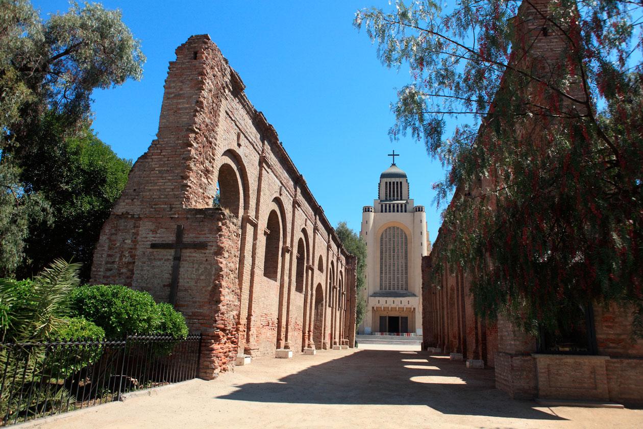 Templo de Maipu en Santiago de Chile