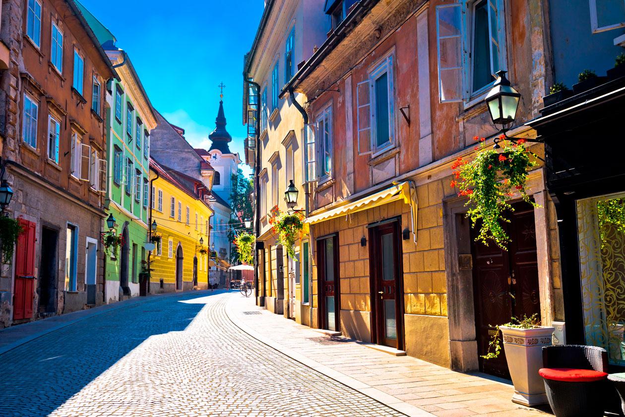 Pasear por Ljubljana