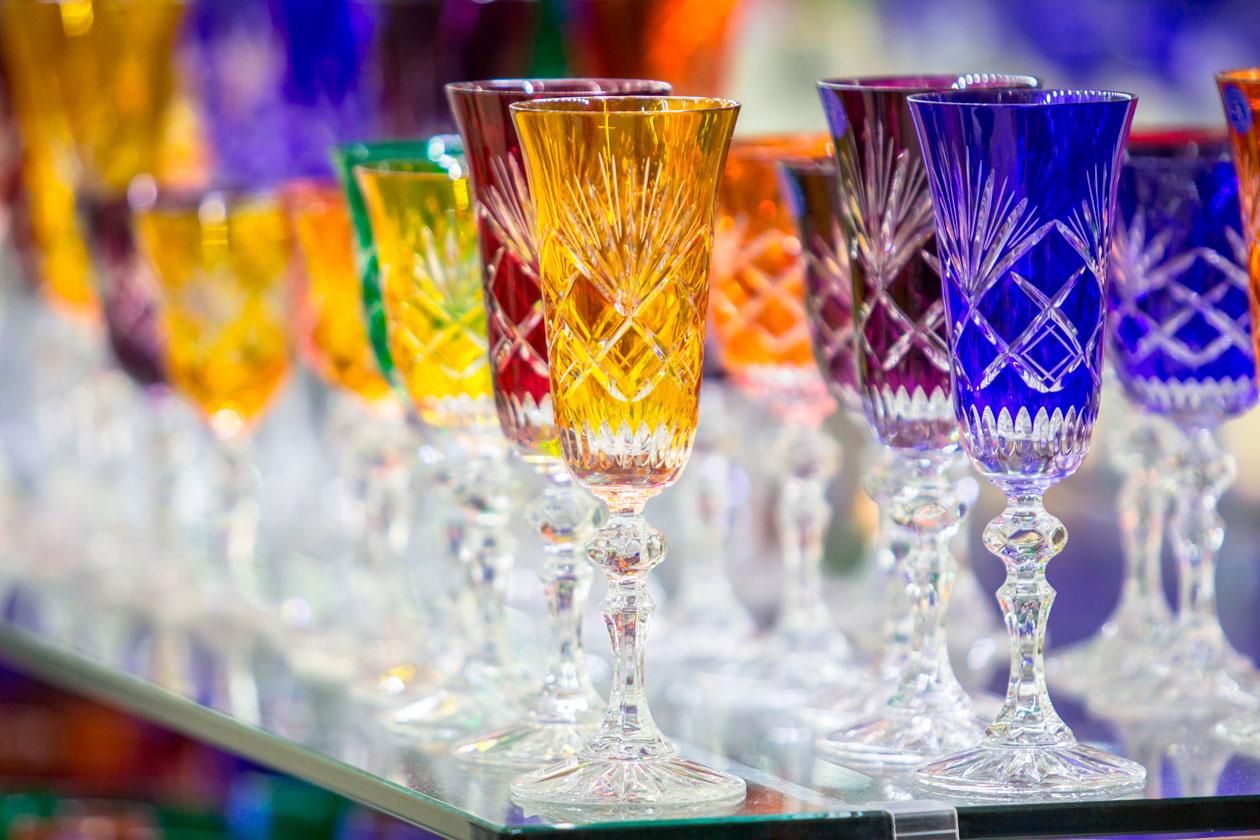 Comprar Cristal de Bohemia en Praga