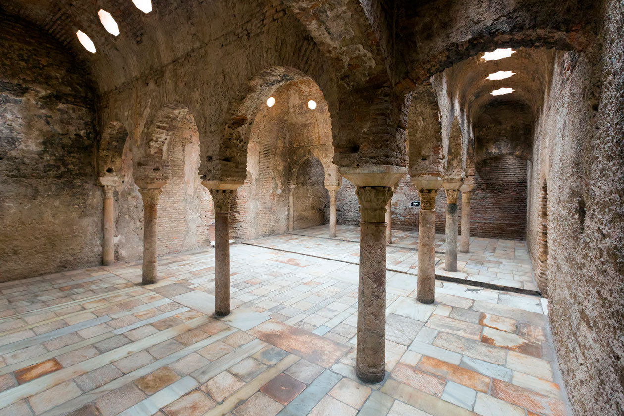 Baños arabes en Granada