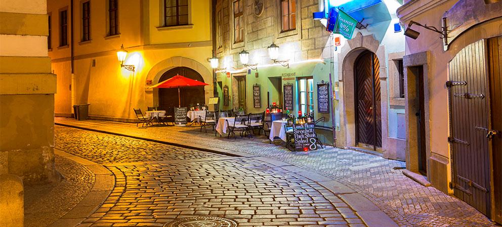Horarios de restaurante en Praga