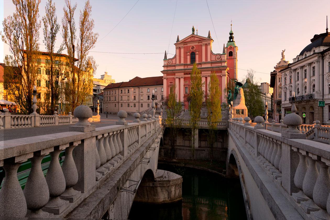 Conocer Ljubljana