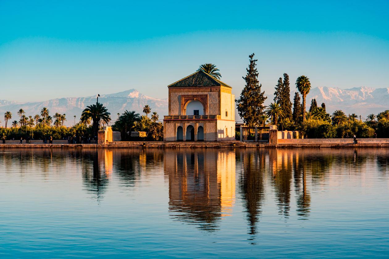 Pasear por Marrakech