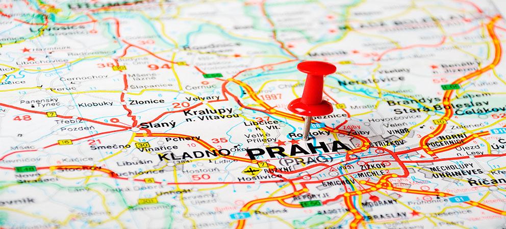 Mapa Interactivo de Praga