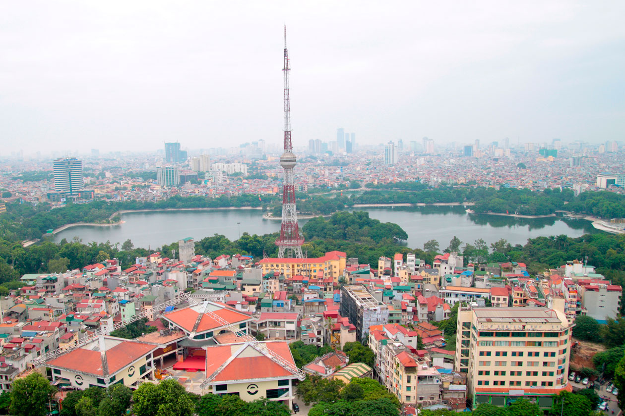 Panoramica de Hanoi