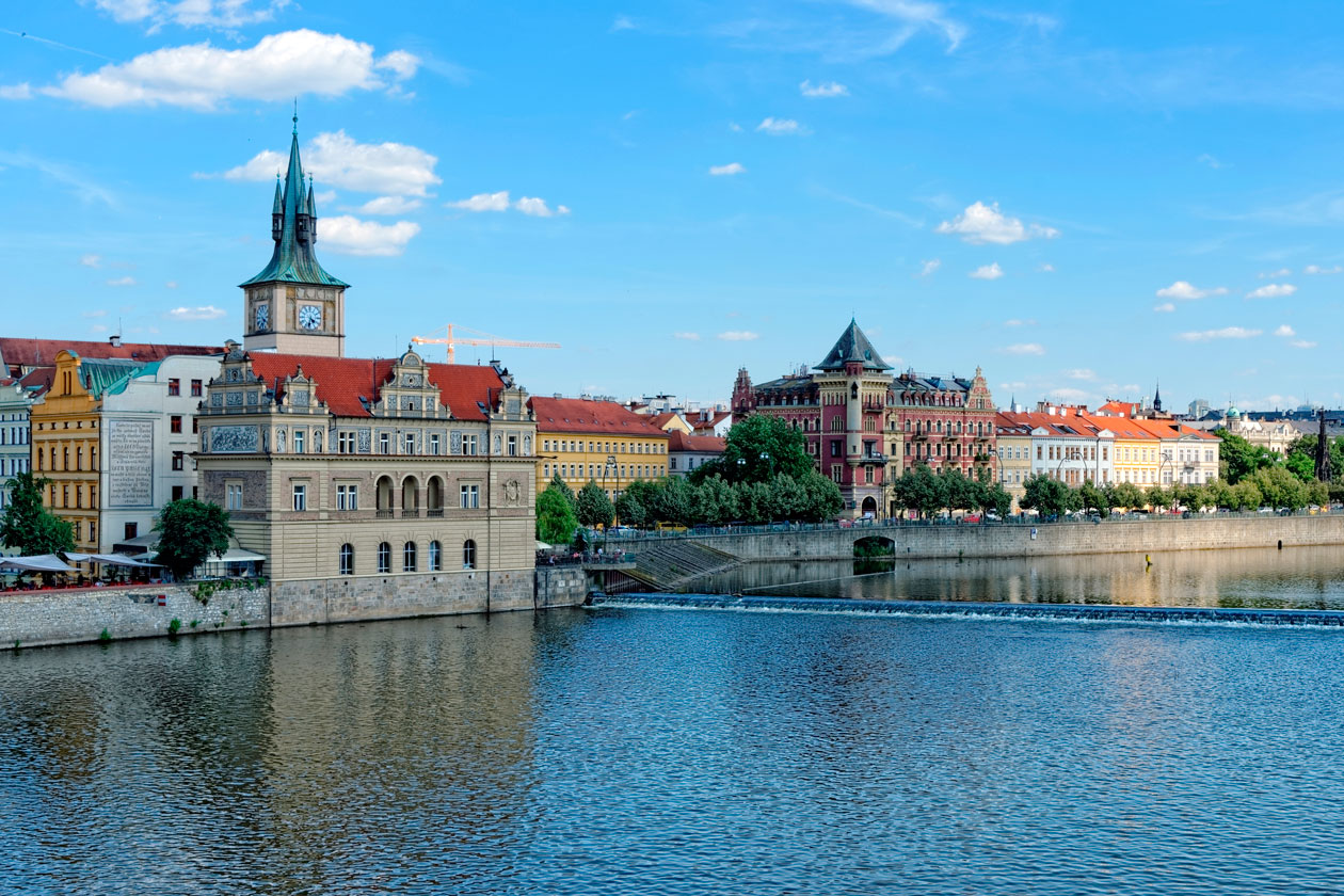 Panoramica Museo Bedrich Smetana en Praga