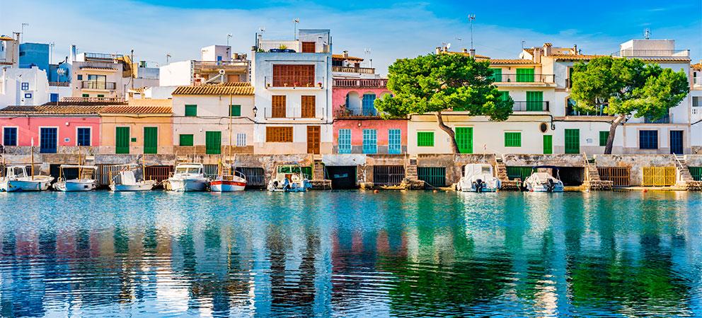 Porto Colom en Mallorca