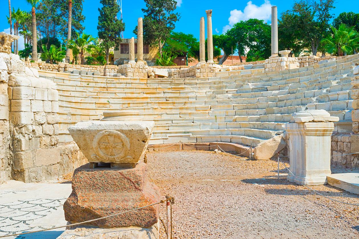 Anfiteatro romano de Alejandria