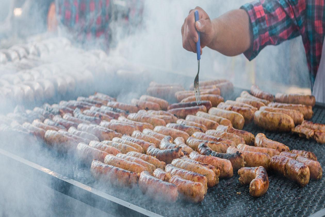 Chorizos argentinos